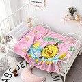 Todo o algodão dos desenhos animados verão colcha lavada algodão verão das crianças colcha fresca confortável respirável pacote afiação artesanato cama