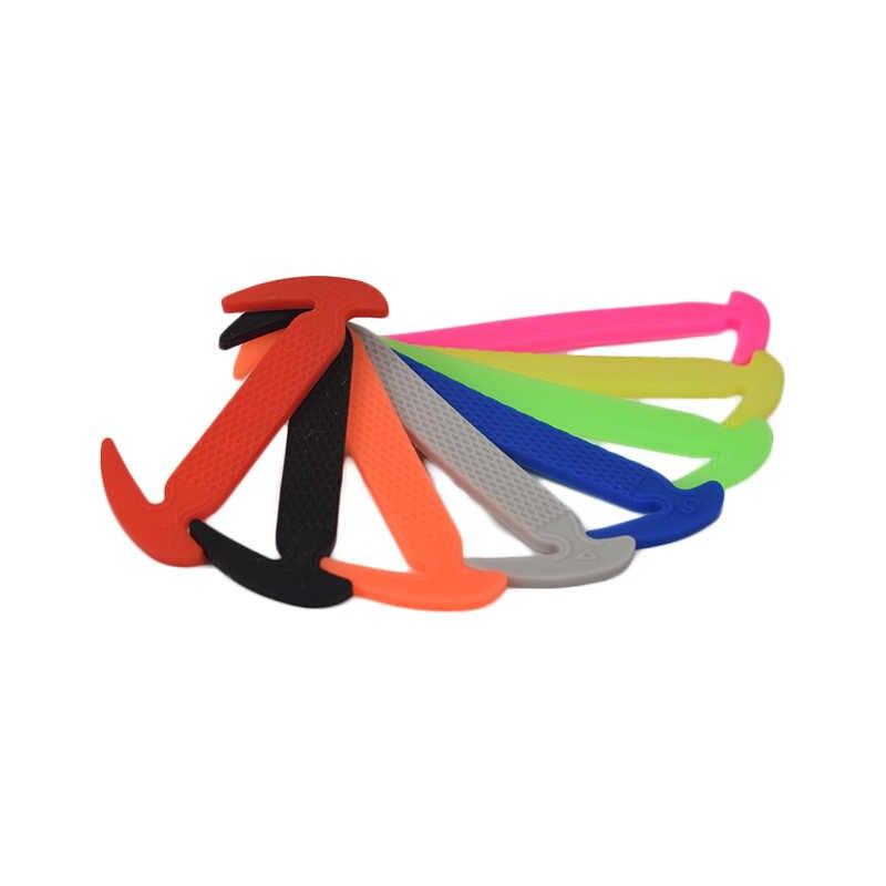 Bambini Lacci delle scarpe Lacci Delle Scarpe Silicone Elastico Speciale Senza Cravatta Lacci Delle Scarpe Delle Donne Degli Uomini di Allacciatura di Gomma Per Bambini Scarpe Da Tennis Shoe Rapida Del Merletto