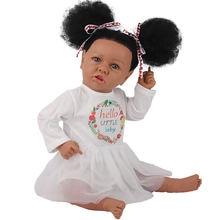 Реалистичная кукла реборн 58 см 23 дюйма ручная работа для новорожденных