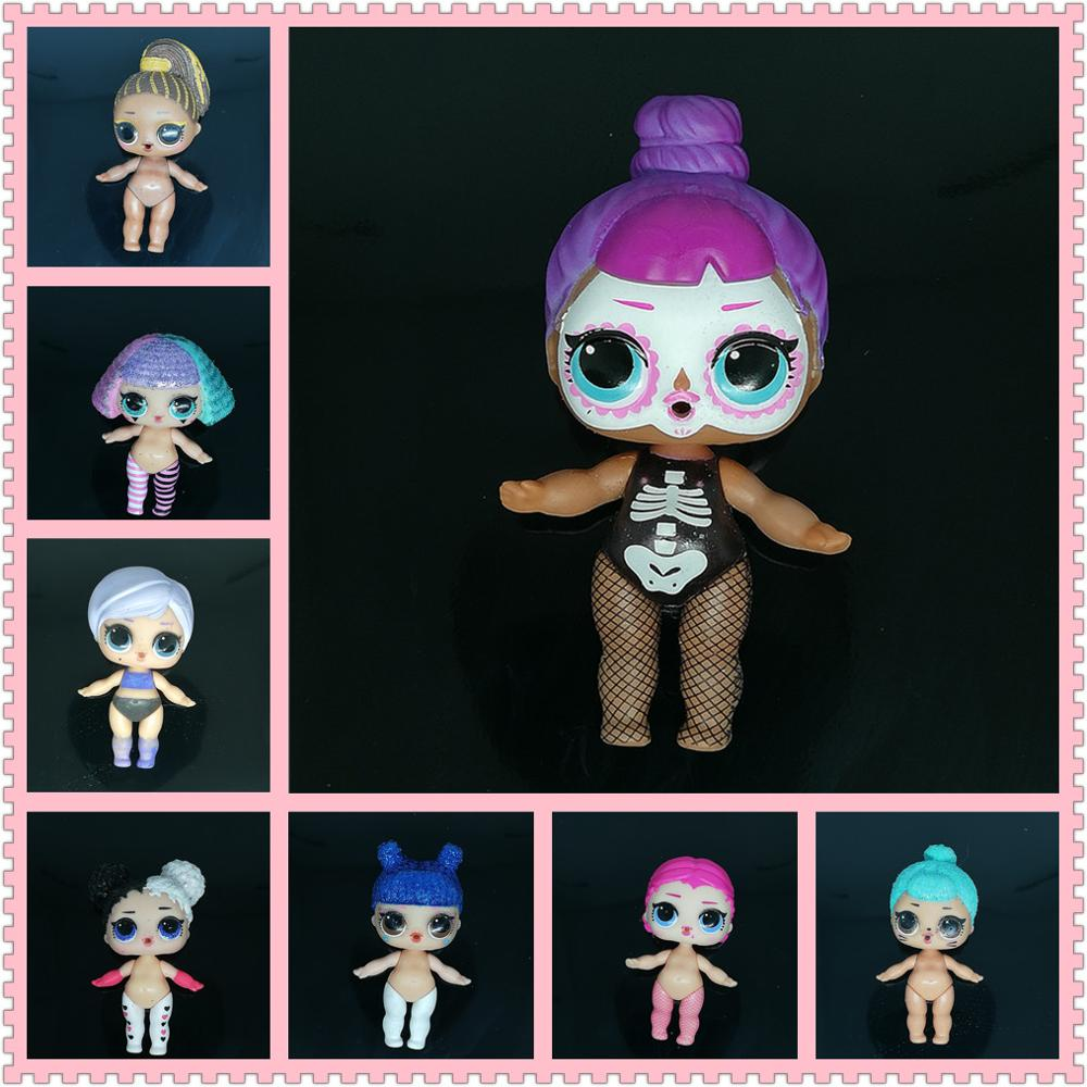 Original LOLs Dolls 8cm Big Sister Baby Dolls Can Choose Without Clothes Outfit Limited Collection Girls Surprise Gift