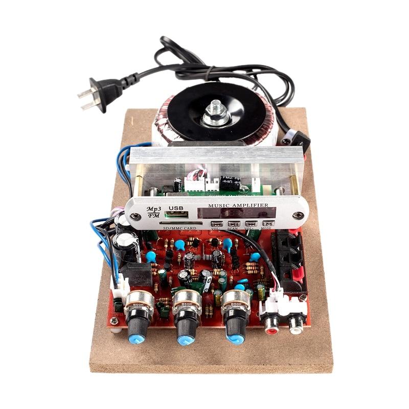 Bluetooth 5.0 Amplifier Board 360W Power High Fidelity HiFi Dual Channel Stereo Digital AUX Audio Capacitor Audio 220V