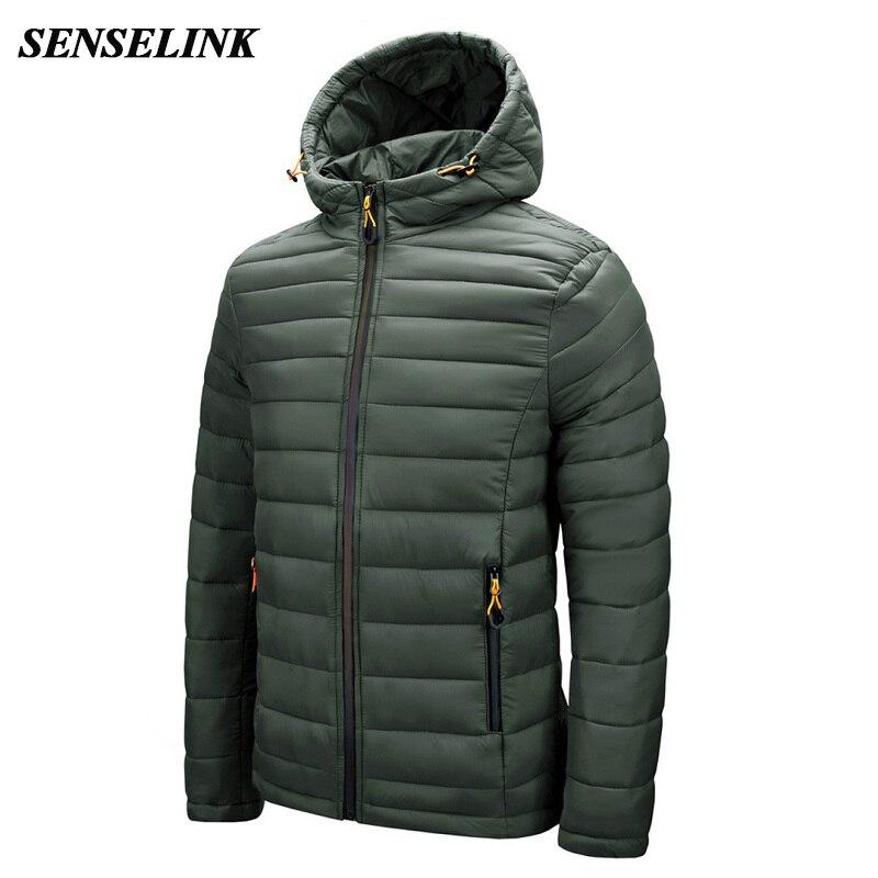 2021 Winter New Warm Jacket Men Casual Fashion Thick Hooded Parka Men Waterproof Slim High Quality Jacket Jacket Men