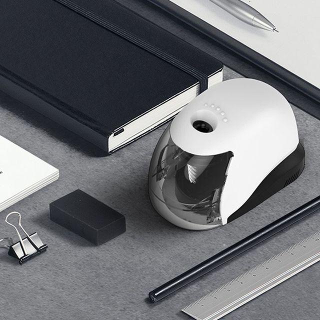 USB חשמלי עיפרון מחדד פשוט עסקי סגנון אוטומטי מחדדי שולחן העבודה בית ספר ציוד משרדי