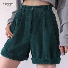Calções vintage estilo namorado calções femininos 2021 verão casual sólido feminino shorts streetwear cintura alta feminino senhoras shorts