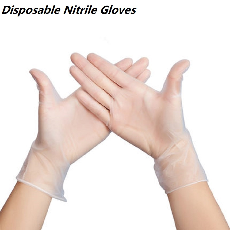 50 Pairs/set Disposable Gloves Latex For Home Cleaning Food/Rubber/Garden Gloves Restaurant Kitchen Accessories Prevent Virus