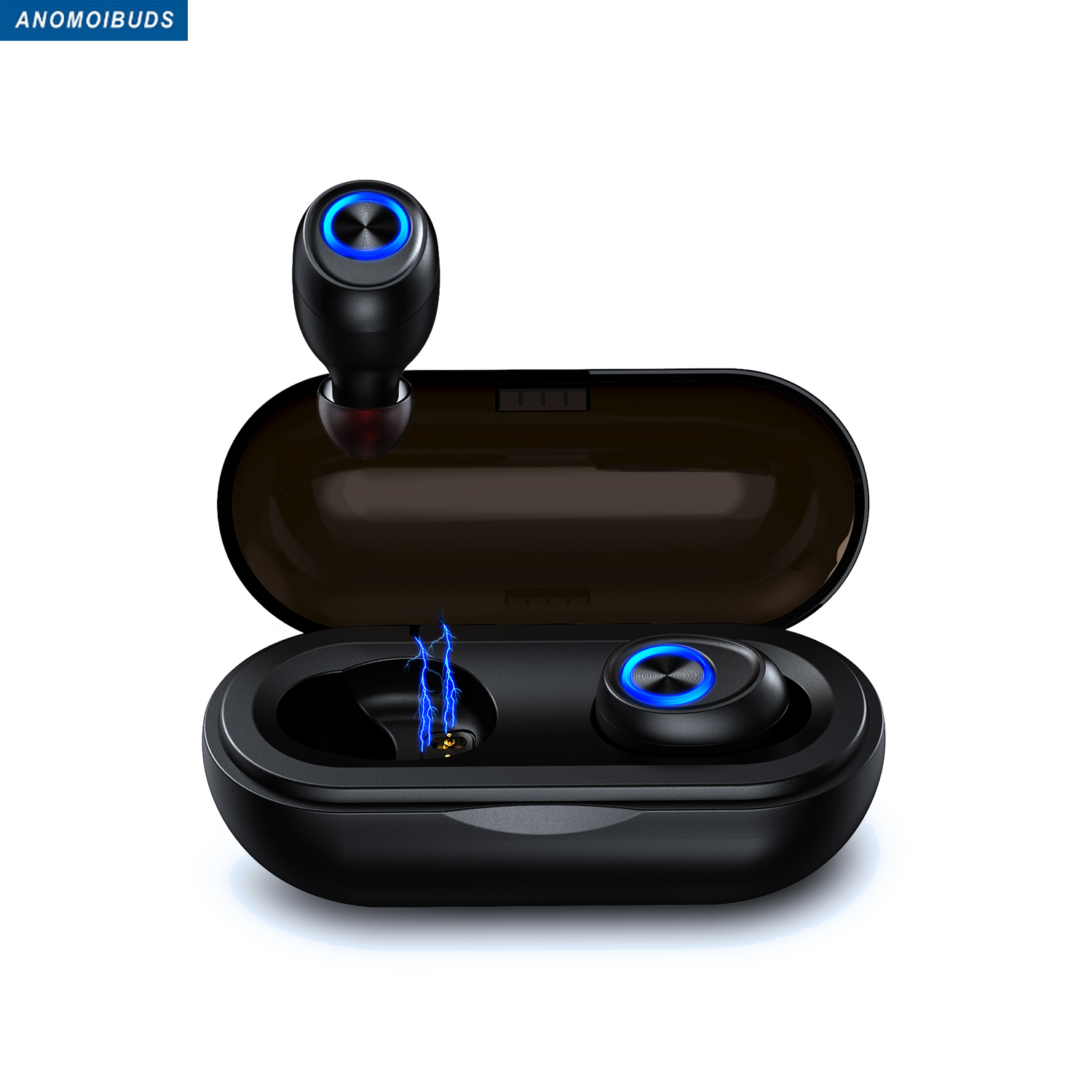 Anomoibuds Capsule wireless headphones bluetooth 5 0 3D Stereo Earbuds  wireless bluetooth earphone Sport Game Headset in ear tw