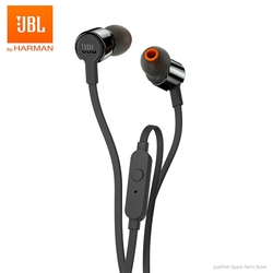 New JBL T210 3.5mm Wired Earphone Stereo Bass Music Sports Headset 1-Button Remote Hands-free Call with Mic