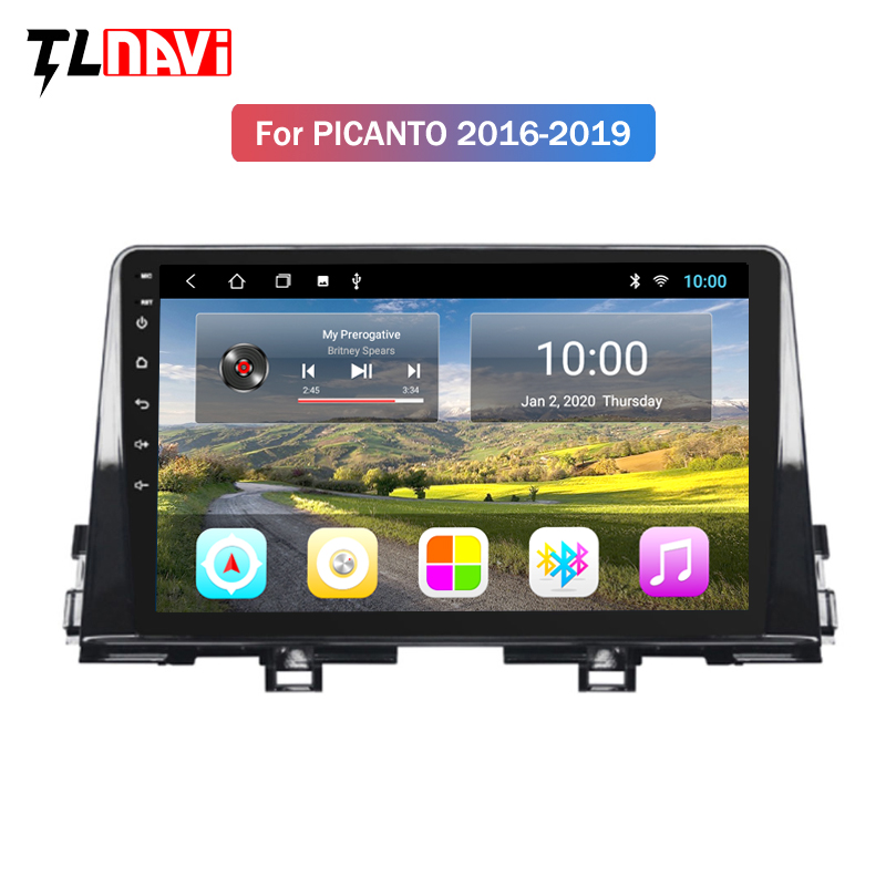 2G RAM Android 9.1 For KIA PICANTO Morning 2016 2017 2018 2019 Multimedia Stereo Car DVD Player Navigation GPS Radio