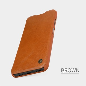 Image 3 - For Xiaomi Redmi Note 9T 5G Flip Case Nillkin Qin Leather Flip Cover Card Pocket Wallet Book Cases For Redmi 9T Note9T Phone Bag