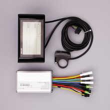 Controlador de bicicleta eléctrica SW900, 24V, 48V, modo Dual, pantalla para bicicleta eléctrica MTB/Fat, Auto ajustable, 250W/350W