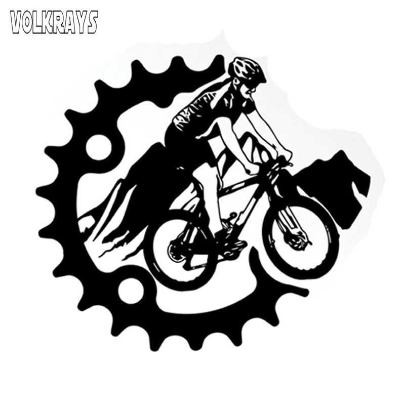 Bike More Worry Less Vinyl Decal Sticker MKS0843 Car Truck Van SUV Window Wall Cup Laptop One 5.25 Inch Decal