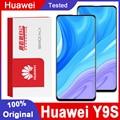 Original 6.59 ''Display Ersatz Mit Rahmen Für Huawei Y9S LCD Display Touchscreen Digitizer Montage Für Y9 S Ersatz