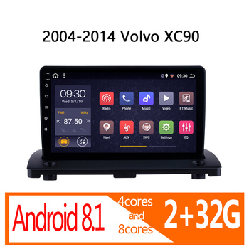 car radio for Volvo XC90 XC 90 2004-2014 autoradio coche audio auto stereo DVD multimedia GPS navigator bluetooth vehicle player image