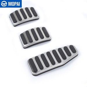 Image 2 - MOPAI Foot Pedal for Suzuki Jimny Manual 2019 Car Gas Brake Pedal Decoration Cover for Suzuki Jimny 2019 2020 Accessories