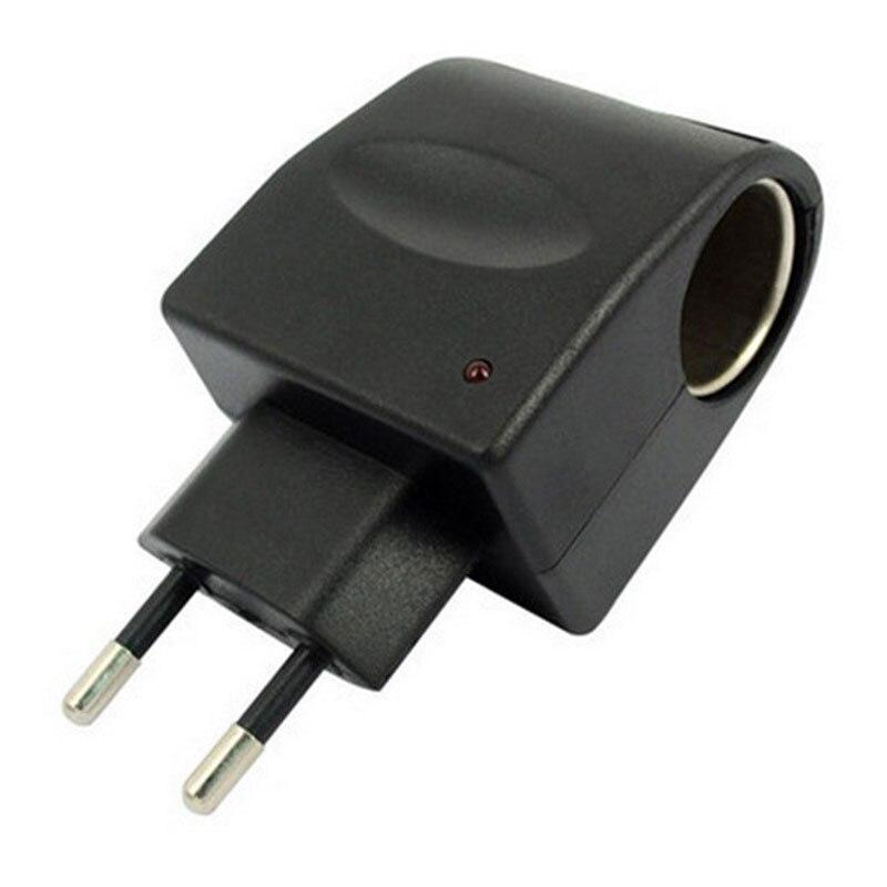 EU 12V Adaptor Charger Mobil Rumah Tangga Pemantik Rokok 90V-240V AC - Aksesori dan suku cadang ponsel - Foto 4