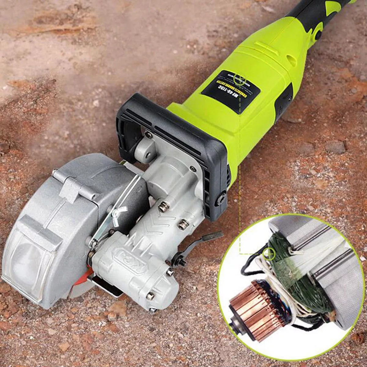 MOYI 4 кВт электрическая стеновая канавочная машина долбежная машина для резки