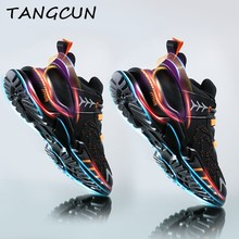 Spring Men Sneakers Breathable Running Shoes Outdoor Sport Fashion Comfortable Casual Couples Gym Mens Shoes Zapatos De Mujer