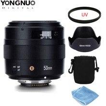 YONGNUO YN50MM 50MM F1.4N F1.4 E Standard Objectif AF/MF pour Nikon D3400 D5300 D7200 D750 D5600 D3200 D7100 D3300 D7200 D850