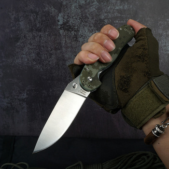 225mm(8.86'') Folding Pocket Knife Survival Tactical Knife Outdoor Camping Hiking Combat Hunting Knives For Self-defense Tool 1