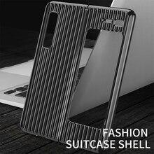 Slim מקרה טלפון עבור Samsung Galaxy לקפל מקרה קשה 360 אולטרה דק גוף מלא מגן כיסוי עבור Samsung לקפל בחזרה קאפה Etui