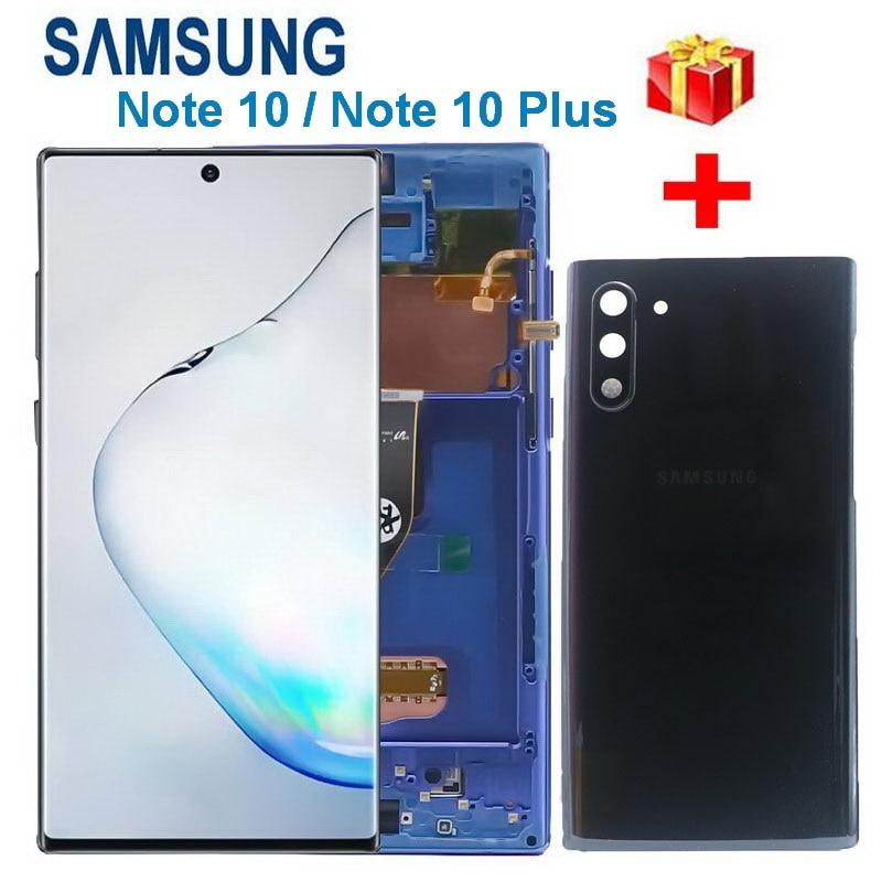 100% original lcd para samsung galaxy note
