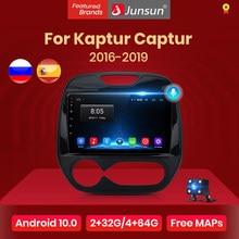Junsun V1 AI Voice Control Android 10 autoradio Multimidia GPS per Renault Kaptur Captur 2016 2017 2018 2019 2 din 2din dvd