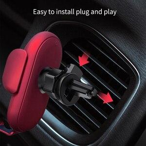 Image 5 - Kisscase רכב מחזיק טלפון לרכב בעל טלפון לעמוד יציב קבוע סוגר תמיכה הכבידה חישה אוטומטי אחיזה אלחוטי טעינה