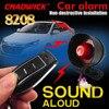 Universal für 12 volt fahrzeug auto alarm system DIY verbinden batterie einfach installieren verbrate 12 v sound laut sirene CHADWICK 8208