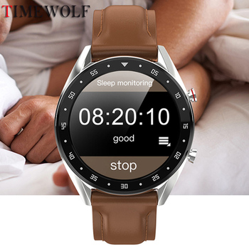 Timewolf Smart Watch IP68 Waterproof Swimming Smartwatch Bluetooth call/Music/Camera Smart Watch for Android Phone Iphone IOS