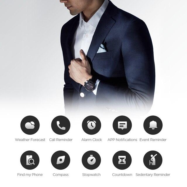 Xiaomi Amazfit Stratos 2s Professional Smart Watch Genuine Leather Strap 4