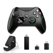 2.4g sem fio jogo controlador joystick para xbox um controlador para ps3/android telefone inteligente gamepad para win pc 7/8/10 gamepads
