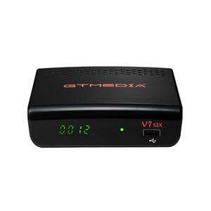 Image 3 - 2PCS GTMEDIA V7S V7 S2X Freesat V7S HD  USB WIFI DVB S2 Support powervu youtube Satellite Receiver freesat v7S GTMEDIA