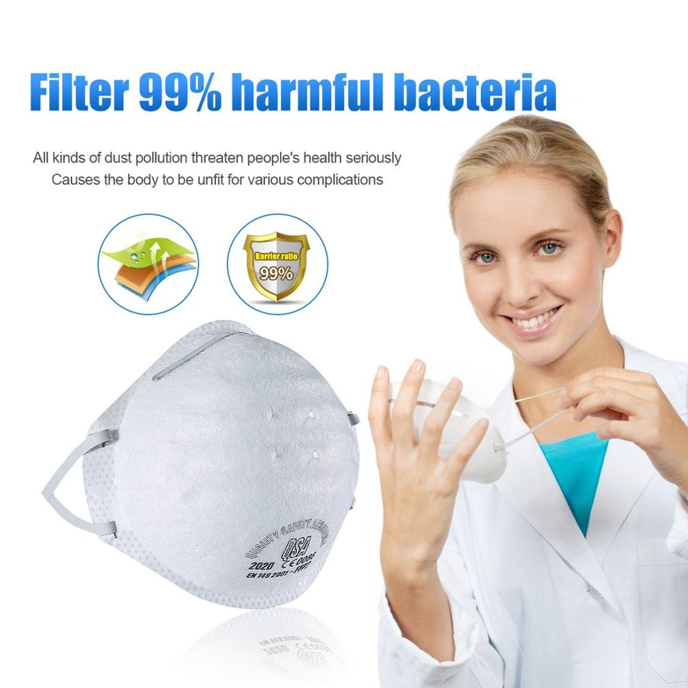 1pc Disposable Face Mouth Mask Anti-dust Bacteria Proof Breathable Kids Adult Ear Loop Filter Masks Respirator