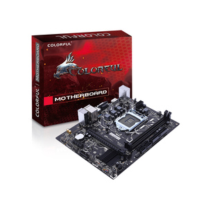 Colorful H310M-E V21 Gaming Motherboard with Dual DDR4 Memory Slots Support Intel LGA1151 Coffee Lake-S Series Processors