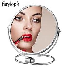 Makeup-Mirror Magnifying Cosmetic Desktop Portable Double-Sided Espelho-De-Maquiagem