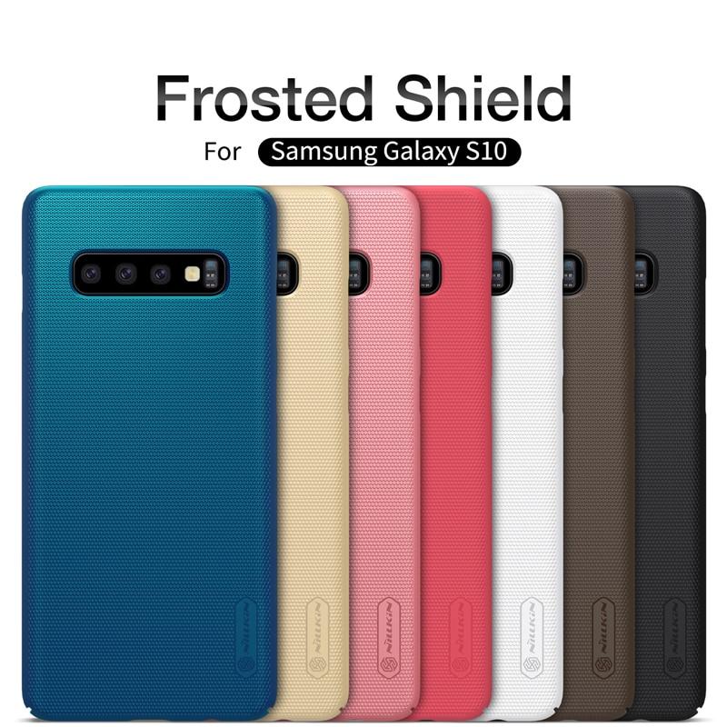 Samsung Galaxy S20 Ultra Case NILLKIN Dondurulmuş Qalxan Arxa Qapaq - Cib telefonu aksesuarları və hissələri - Fotoqrafiya 2