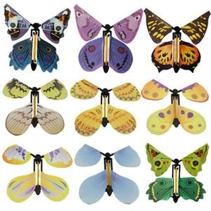 Image 2 - Lesiostress 5 stücke Magie Schmetterling fliegen Karte Spielzeug mit Leere Hände Solar Schmetterling Hochzeit Magie Requisiten Zaubertricks