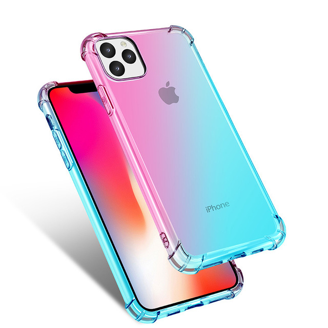 Gradient Clear Silicone Case for iPhone 11/11 Pro/11 Pro Max 2