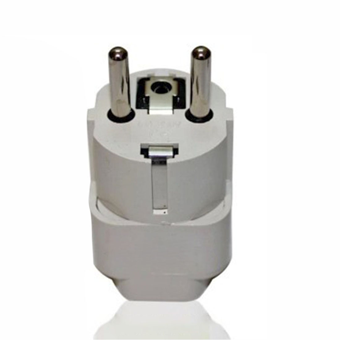 Universal EU Plug Converter Adapter (For Countries With EU Plug/US Plug)