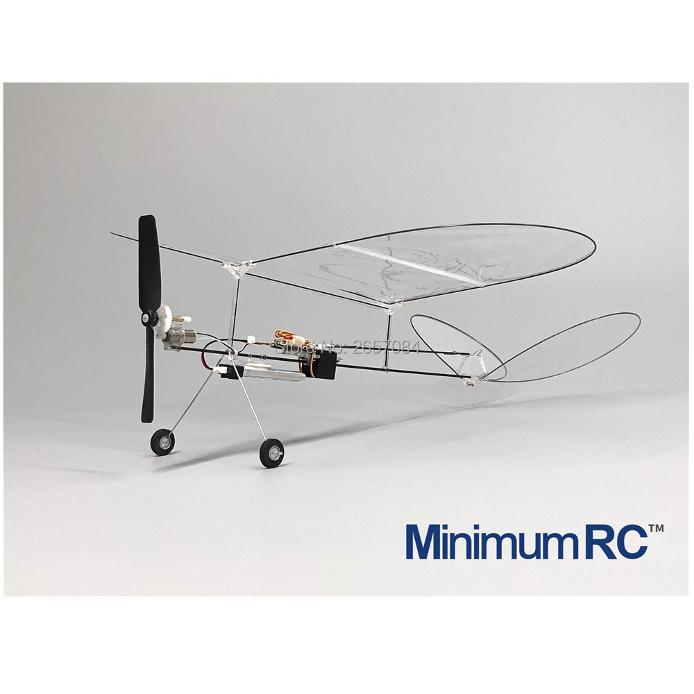 MininimumRC Plane Butterfly V1 Ultralight Thin Film Fixed Wing Indoor Fixed Wing Three-way Model Aircraft