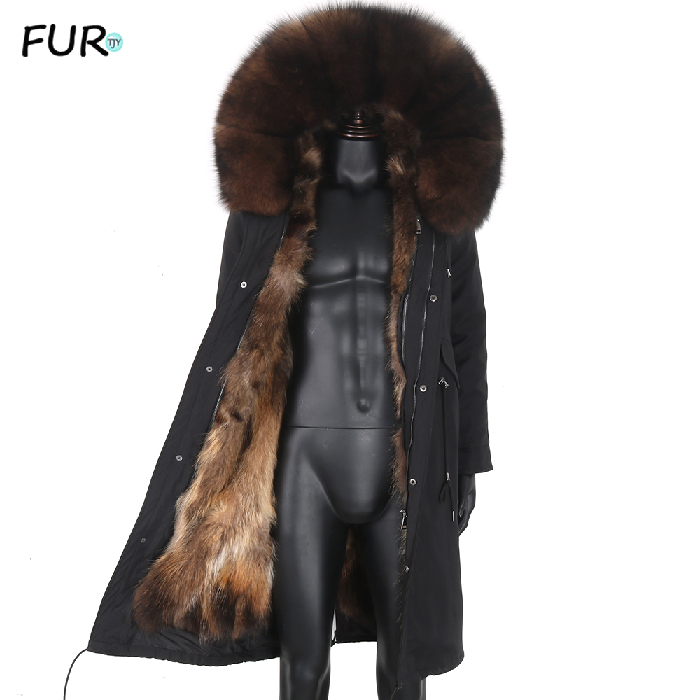 Mens Real Lamb Fur Jacket Winter Warm Wool Hooded Coat Short Outwear Parka