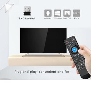 Image 5 - L8star Air Mouse подсветка гироскоп Google Assistant голосовой поиск микрофон 2,4G беспроводной пульт дистанционного управления для Fire TV Android TV
