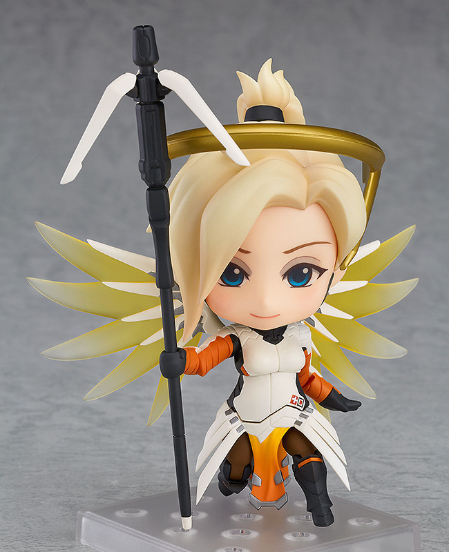Very Hot and Cool Q Version Overwatch OW Angel Angela Classic Skin PVC Boxed Model Figure Toy for Friends or Children 2