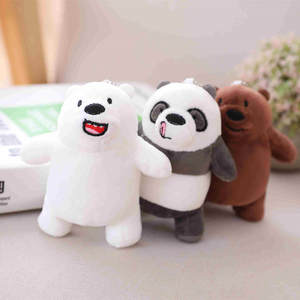 Panda Soft Kawaii Gift Toy Animal-Doll Christmas-Birthday-Gift Plush-Bear Baby Kids 12cm