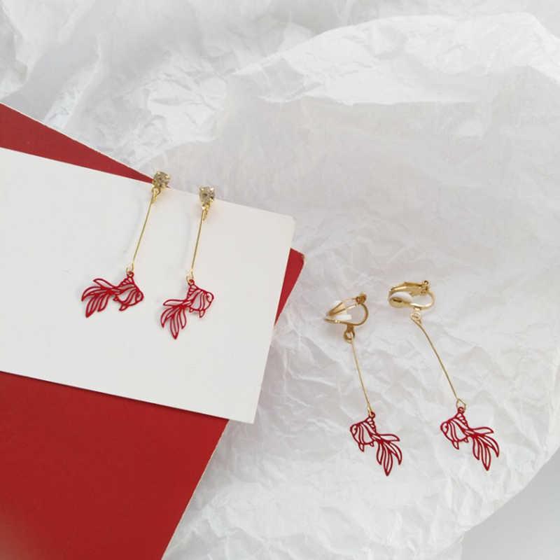 Brincos femininos modernos, acessórios de joias de metal chinês