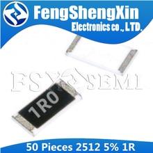 50 шт. 2512 SMD резистор 5% 1 Ом 1 Вт 1R 1R0 6,4*3,2 мм