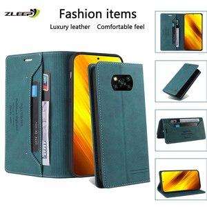 Image 1 - Leather Flip Case For Xiaomi Poco X3 NFC F3 11 10 9 10T Lite 9T CC9 E Redmi 9C 8A 7A Note 10 10X 9 9S 8 8T 7 K20 Pro Max Phone