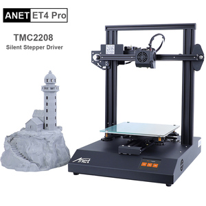 Anet 3D Printer ET4 Pro With TMC2208 Silent Stepper Driver High precision FDM 3D Printer With Auto Self-Leveling Sensor(China)