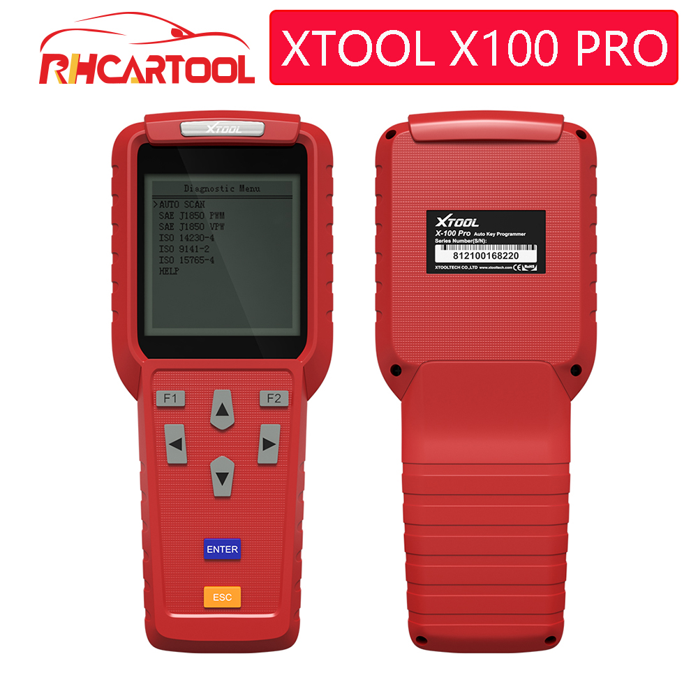 100 Original XTOOL X100 Pro Auto Key Programmer With EEPROM Adapters support Odometer Mileage adjustment Free