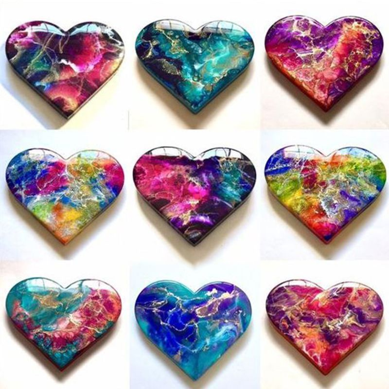 20 Colours 10ML Crystal Epoxy Resin Pigment Liquid Colorant Dye Ink Diffusion Resin Jewelry Making DIY Handmade Crafts Art Sets 3